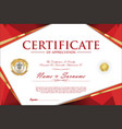 Certificate retro design template 1