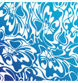 color seamless swirl sea background blue abstract vector image vector image