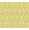 Elaborate golden vintage seamless pattern vector image vector image