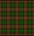 green and brown tartan plaid scottish pattern vector image vector image