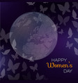 happy women day holiday sprin vector image