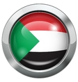 palestine flag metal button vector image vector image