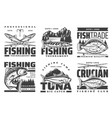 profession fishing tournament big fish catch camp vector image vector image