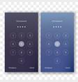 screen lock unlock password smartphone background vector image