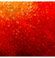 Square pattern in red and orange colors EPS 8 vector image vector image