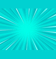 turquoise pop art background vector image
