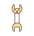 wrench tool kawaii character