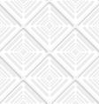 Diagonal gray offset squares pattern vector image vector image