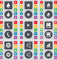 Drop Star Fire Receiver Media play SIM card Gear vector image vector image