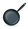 Frying pan vector image vector image