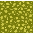 Green tea background vector image vector image