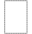page border a4 design for project vector image vector image