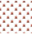 shapito circus pattern vector image vector image