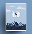 snowboarding season is coming vector image vector image