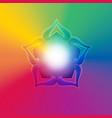 spiritual background vector image