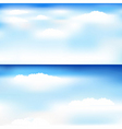 skyscapes vector image
