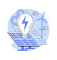 alternative energy abstract concept vector image vector image