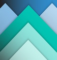 Green pastel material design with shadow vector image