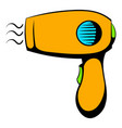 hairdryer icon icon cartoon vector image
