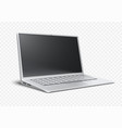 laptop airbook ultrathin vector image vector image