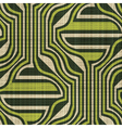 ornate textile print vector image vector image