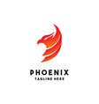 phoenix logo design inspiration vector image