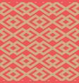 seamless winter holidays geometric pattern vector image