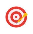 a darts vector image