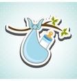 baby shower icon design