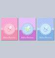 bashower cards vector image vector image