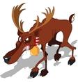 Dreadful Reindeer vector image vector image