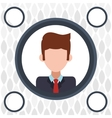 human resources icon design vector image vector image