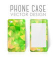 mobile phone cover vector image vector image
