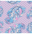 seamless paisley pattern in soft colors vector image