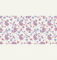 seamless pattern based on ornament paisley bandana vector image vector image