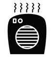 Space Heater vector image vector image