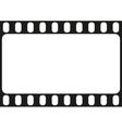 Film strip seamless pattern vector image