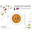 liechtenstein cuisine european national dish vector image