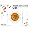 liechtenstein cuisine european national dish vector image vector image