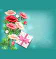 mothers day concept vector image vector image