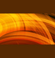 orange abstract background warm lines technology vector image