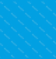 paper language pattern seamless blue vector image vector image