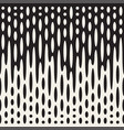 seamless irregular lines halftone black and white vector image vector image