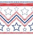 Tribal ethnic zig zag pattern vector image vector image