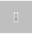 walkie talkie computer symbol vector image