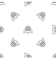winter sweater pattern seamless vector image vector image