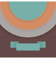 Abstract background in retro style vector image vector image