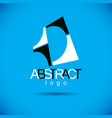 abstract geometric shape best for use as creative vector image