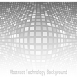 Abstract Gray - White Technology Background vector image vector image