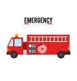 Emergency design vector image vector image